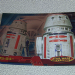Star Wars Evolution topps 2001 R5-D4 Foil card